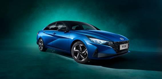 家轿市场新物种 北京现代第七代伊兰特官图发布