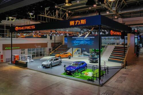 纯电车型首秀,SERES(赛力斯)成为唯一纯电/增程双线出击的品牌